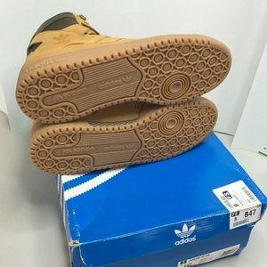 detailed look adf7d 1476e adidas Shoes - Adidas Forum HI OG Mesa Gum Brown AQ5519